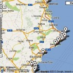 Link to interactive map of South-Eastern Spain - AA English-speaking Meetings